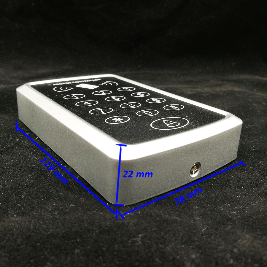 Image 3 - Free Shipping 125Khz Rfid Access Control System Card Door Lock Controller Keypad Door Access Controller-in Access Control Kits from Security & Protection