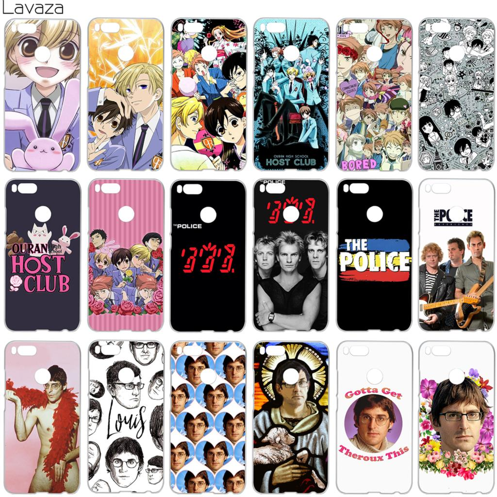 Lavaza Ouran High School Host Club The Police Louis Theroux Case for Xiaomi Redmi Note 5 5a mi5 3s Plus Pro