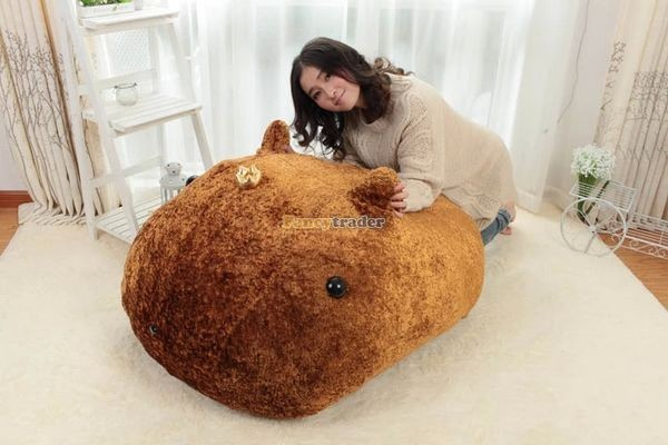 Fancytrader Biggest 41\'\' 105cm Lovely Giant Plush Stuffed Kapibarasan Vole Otters, Free Shipping FT50159 (5)