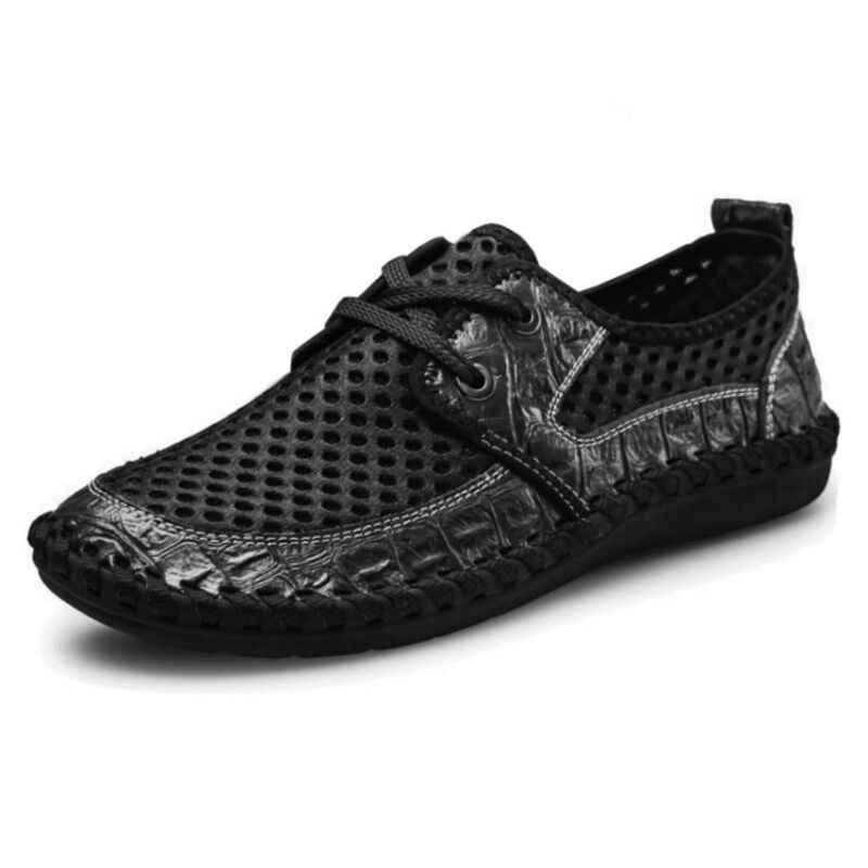 VANCAT Büyük Boy Yaz Erkekler rahat ayakkabılar Moda Nefes erkek ayakkabısı Rahat Erkek Ayakkabı Marka Erkek Moda Ayakkabı Ucuz Ayakkabı