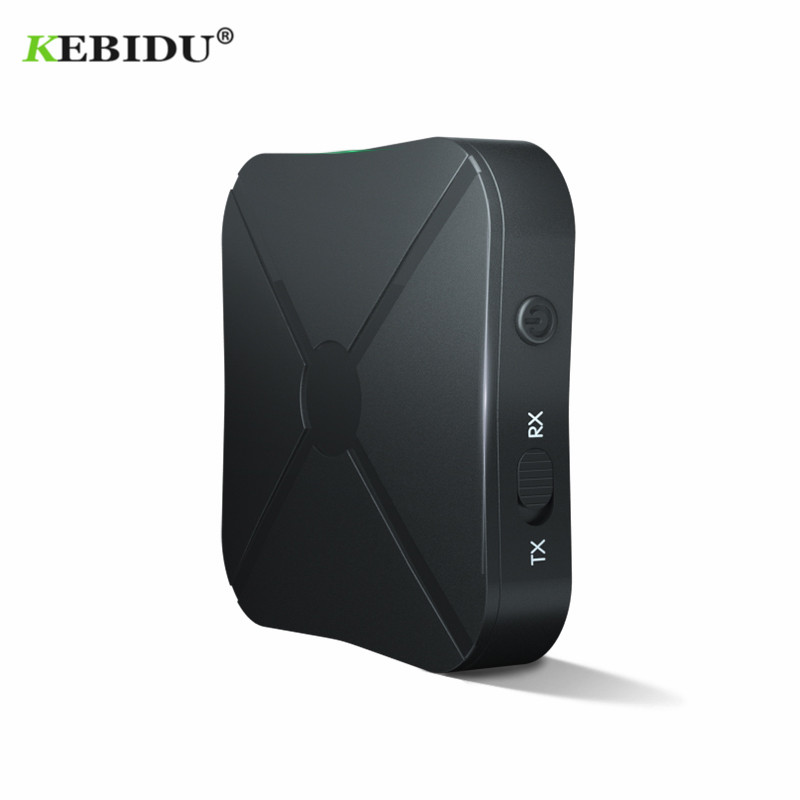 Image 3 - Kebidu 2 IN 1 Bluetooth 4.2 Receiver and Transmitter Bluetooth Wireless Adapter Audio With 3.5MM AUX Audio For Home TV MP3 PC-in Wireless Adapter from Consumer Electronics