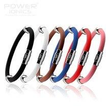 Potenza Ionics agli ioni di Titanio Più Magnetico Wristband Del Braccialetto 6 colori U Pick