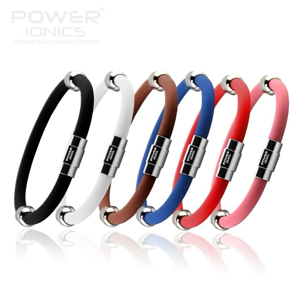 Power Ionics -ion Titanium Magnetic Plus Armband Armband 6 Farben U Pick