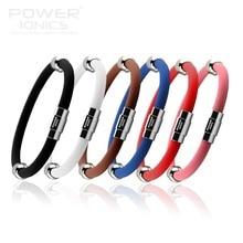Power Ionics  ion Titanium Magnetic Plus Bracelet Wristband 6 colors U Pick