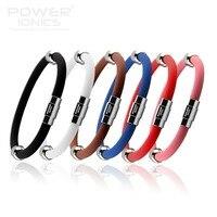 7 8 Power Ionics Ion Titanium Magnetic Plus Bracelet Wristband 6Color U Pick
