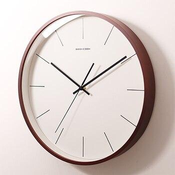 European Wall Clock Modern Design Silent Clock Digital Mechanism Clocks Horloge Kitchen Clocks Wall Home Decor WZH304