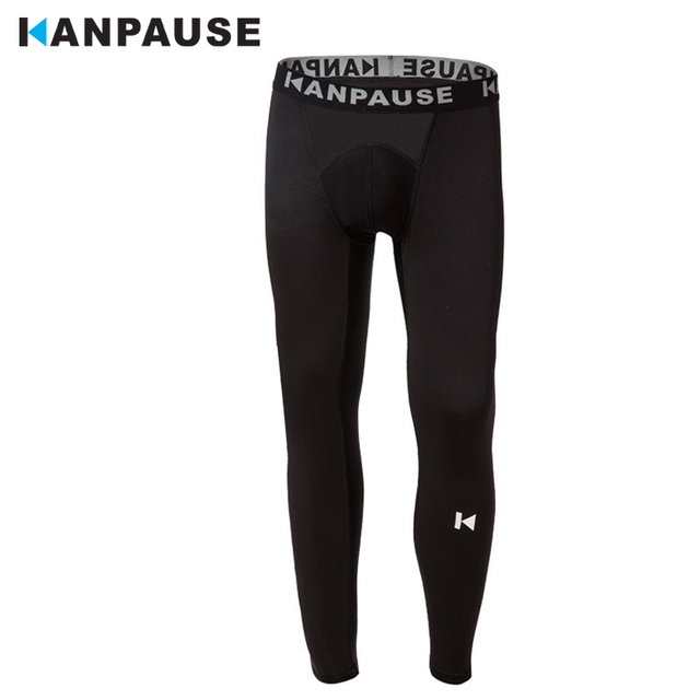 New Arrival  KANPAUSE Men's Tights Pants Running Training Pants Compression Sportswear