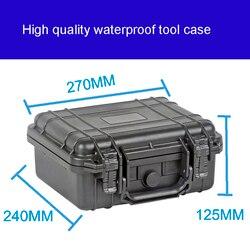 Чехол для инструментов toolbox чемодан ударопрочный герметичный водонепроницаемый пластиковый чехол оборудование коробка камера корпус метр...