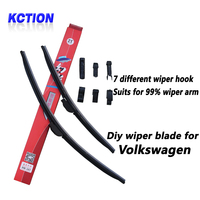 Car Windshield Wiper Blade For Volkswagen Polo Sedan UP Amarok Sharan Bora Caravelle T5 Multivan Touran