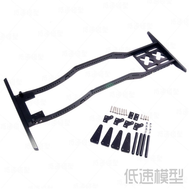 RC Climbing Car Chassis Aluminum Frame For 1 / 10th Crawler Wraith ...