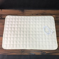 New Arrial EARTHING throw pad seat pad EMF protection conductive mat 50*70cm Earthing Silver Plush Pad