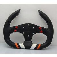 320mm 13inch PU Leather F1 SPC Auto Racing Car Steering Wheel Car Racing Styling