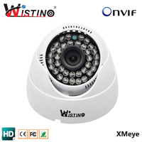 HD720P Indoor Dome IP Camera Security CCTV 1 0MP Surveillance ONVIF 2 0 P2P IR Cut