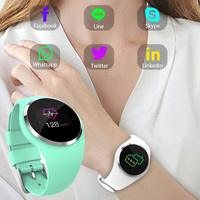 Fitness Smart Watch Women Running Heart Rate Monitor Bluetooth Touch Pedometer Lady Sport Watch Wristwatch For Android IOS