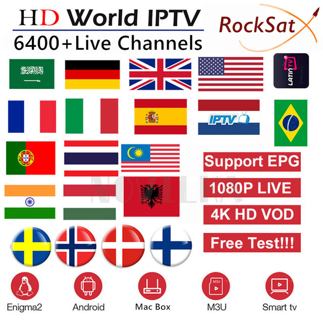 AIBEE Europe IPTV Subscription Rocksat France UK German Arabic Dutch Sweden French