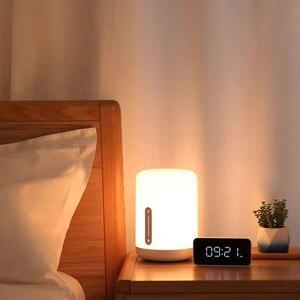 Image 4 - ใหม่รุ่นXiaomi Mijiaโคมไฟข้างเตียง2 Smart Light Touch Controlสวิทช์สมาร์ทAPPสีปรับสำหรับApple Homekit siri