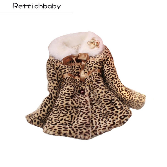 05b2221a2 Retail 1PC Autumn Winter Baby Girls Warm Coat Children Clothing Kids ...