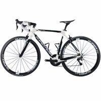 Superteam 700C Road Bike Carbon Bicycles Shimano 5800 105 Groupset Carbon Fiber Wheelset / Seatpost / Fork 22 Speed Bicicleta