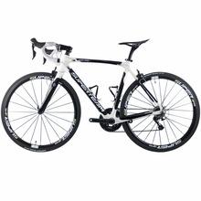 Superteam 700C rower szosowy węgla rowerów Shimano 5800 105 grupa sprzętowa koła z włókna węglowego sztyca widelec 22 prędkości Bicicleta tanie tanio 0 1 m3 Zwyczajne pedału Pokój v hamulca 150 kg Mężczyźni 7 kg Unisex Gumowy odporność (medium biegów bez tłumienia)