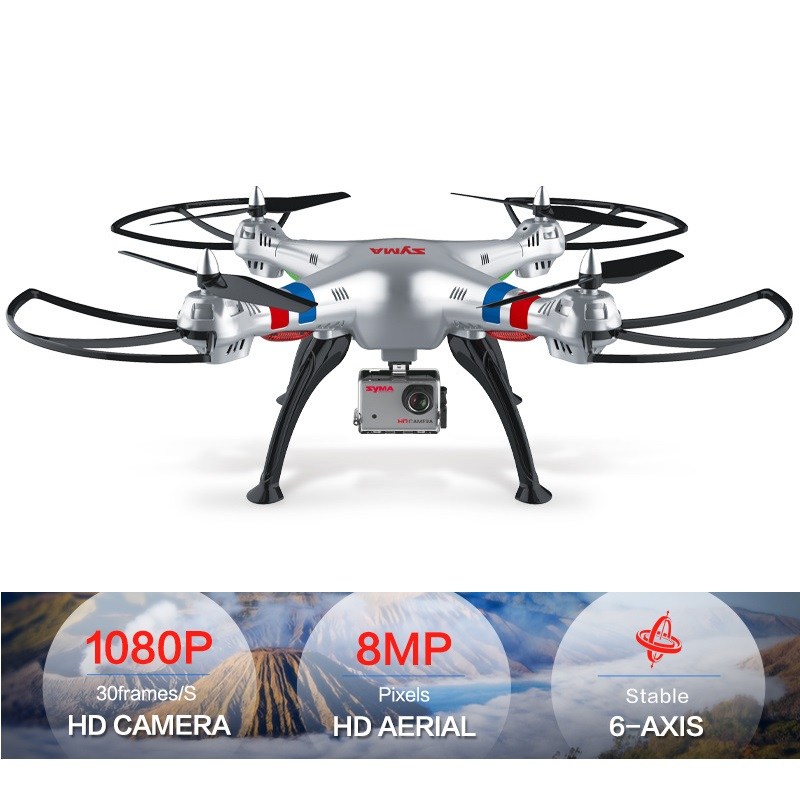 SYMA X8C X8W X8G Drone with Camera HD 1080p Professional Quadcopter 4CH 6 Axis FPV RC Dron Wifi Real-time Transmit RC Helicopter syma x5sw fpv dron 2 4g 6 axisdrones quadcopter drone with camera wifi real time video remote control rc helicopter quadrocopter
