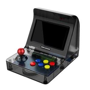 Image 2 - רטרו ארקייד כף יד קונסולת משחקי 4.3 אינץ 3000 קלאסי משחק נגן 2 PCS ג ויסטיק טלוויזיה פלט נייד