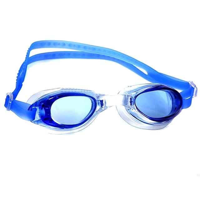 Waterproof Silicone Anti Fog UV Shield Swimming Glasses Goggles Eyewear Eyeglasses For Men Women Children Outdoor Water Sports