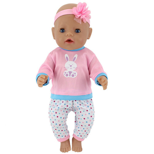 6Style Choose Doll Clothes+hairbrand Wear for 43cm Baby Born zapf, Children best Birthday Gift цены онлайн