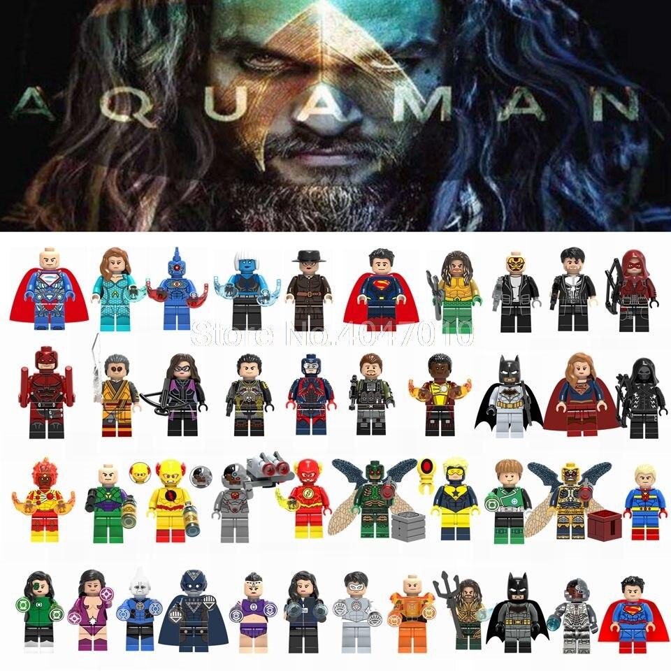 Buy legoing super heroes figure blocks superman wonder woman the flash cyborg - Flash le super heros ...