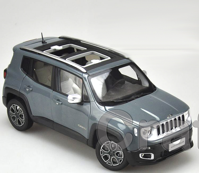 * Серый 1/18 Jeep Renegade 2016 Cherokee City SUV Сплава Игрушечную Машинку