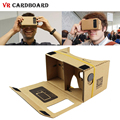 Magnet Control VR Cardboard BOX Smartphone Headset kit DIY 3D Glasses Virtual Reality Thicker Harder with Head Strap