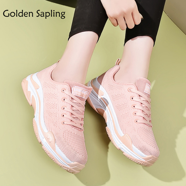Golden Sapling Women's Sneakers Women Tennis Shoes Summer Fabric Athletic Ladies Sport Shoes for Women Trainers Woman Sneakers
