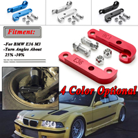 Pair 4 Colors Adapter Increasing Turn Angles About 25% 30% Drift Lock Kit For BMW E36 M3 Tuning Drift Power Adapters & Mounting