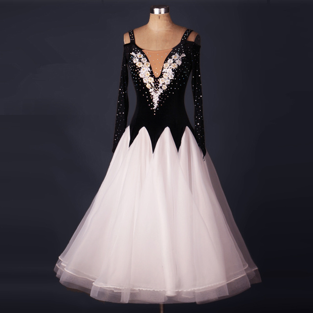 19d73f3f7 New Ballroom dance costumes sexy senior stones ballroom dance dress for women  ballroom dance dresses