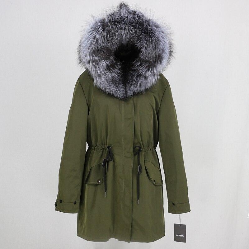 OFTBUY 2019 Winter Jacket Women Long Parka Real Fox Fur Coat Natural Raccoon Fur Collar Hood Thick Warm Streetwear Parkas New 37
