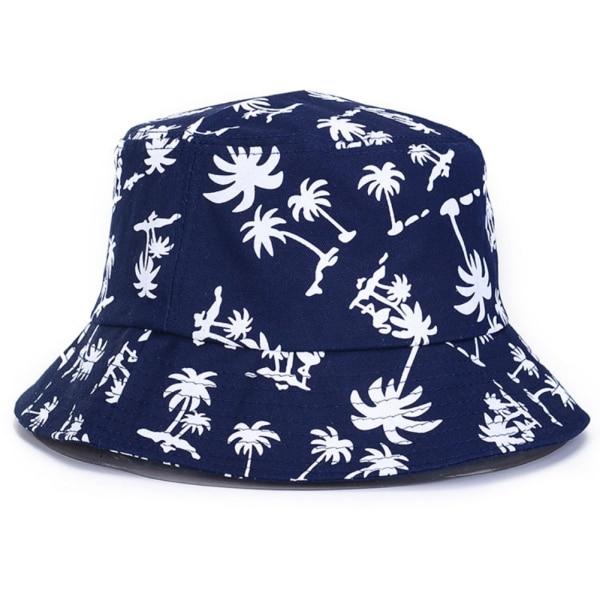7b3ee185217 Boho Women s Cap Print Coconut Tree Beach sun Basin Hat Bucket Hat Folding  Sun Hat Cute Summer Beach Cap Mujer