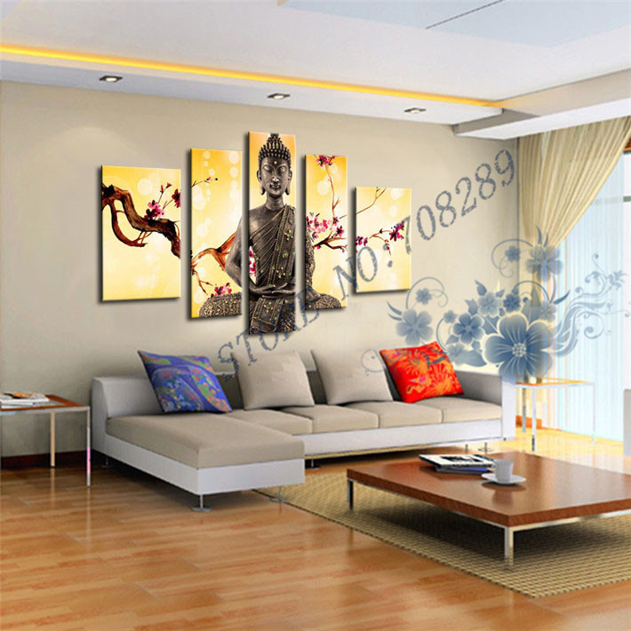 Wholesale The latest Beautiful Buddha Home decoration Paintings ...