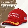 Открытый Моды 6 Панели Хлопка Спорта Бейсбол Шляпы Cap Для Женщин и Мужчины Америка Прекрасно Снова Шапки Шляпы Сетки Крышка Trucker