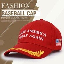 Marca De moda Esporte Boné De Beisebol Das Mulheres Homem Fazer a América Grande mais Chapéus tampão Do Camionista Trunfo da bandeira DOS EUA Boné de Beisebol Casquette chapéu