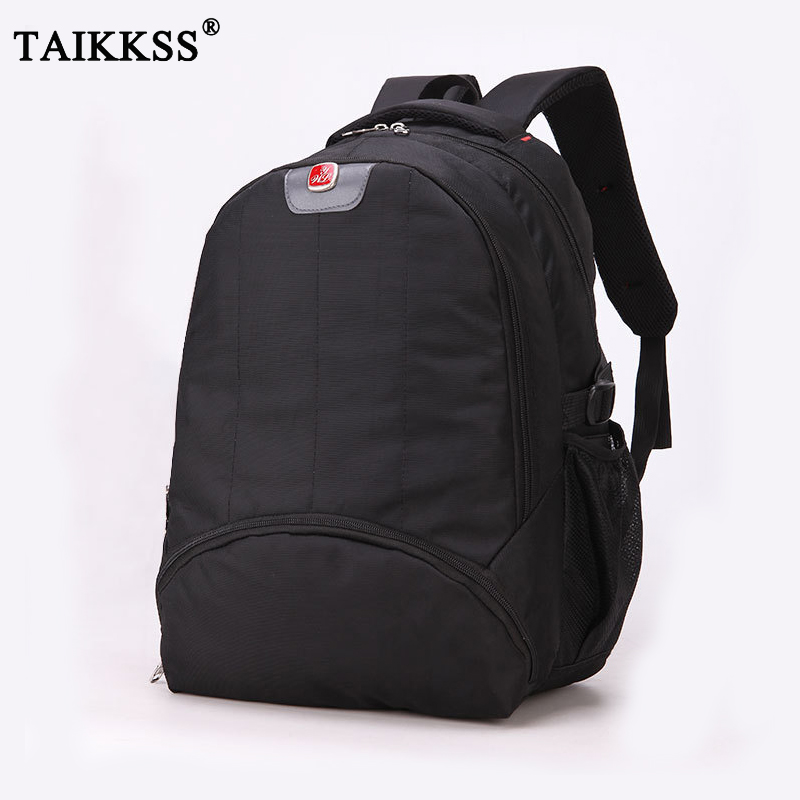 New Trend Fashion Nylon Backpack Large Capacity bags College Men Casual Black Backpack Bra