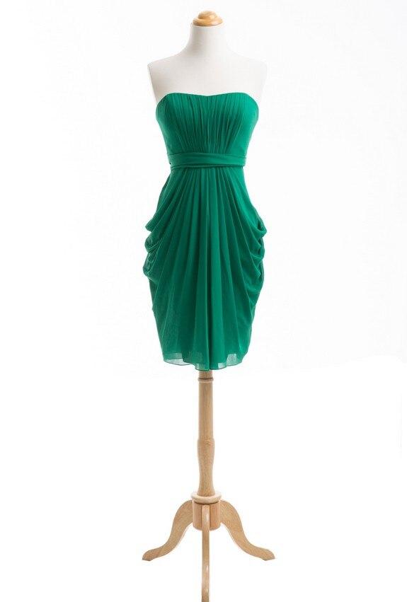 Emerald πράσινο φόρεμα παράνυμφων φόρεμα - Φορεματα για γαμο - Φωτογραφία 3