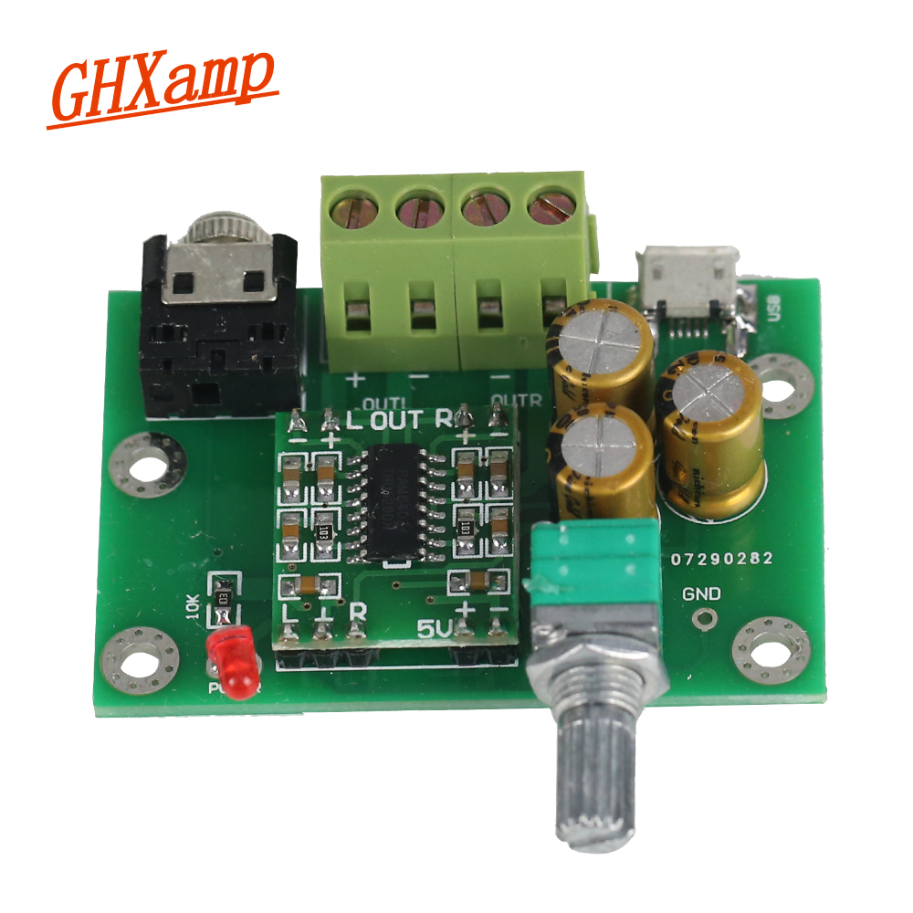 Pam8403 Class D Digital Amplifier Audio Board 3w For Passive Circuit Lm1036 Tone Controlled Irs2092 Bookshelf Small Speakers 5v Power Supply In Speaker Accessories From Consumer Electronics