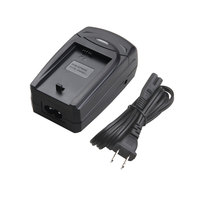 LVSUN Multi Function Digital Camera Camcorder Battery Charger With USB Port EU Plug AC Power Cord
