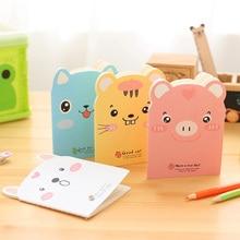 1pcs/lot Lovely Pig cartoon Notebook Pocket Notepad School Office Stationery