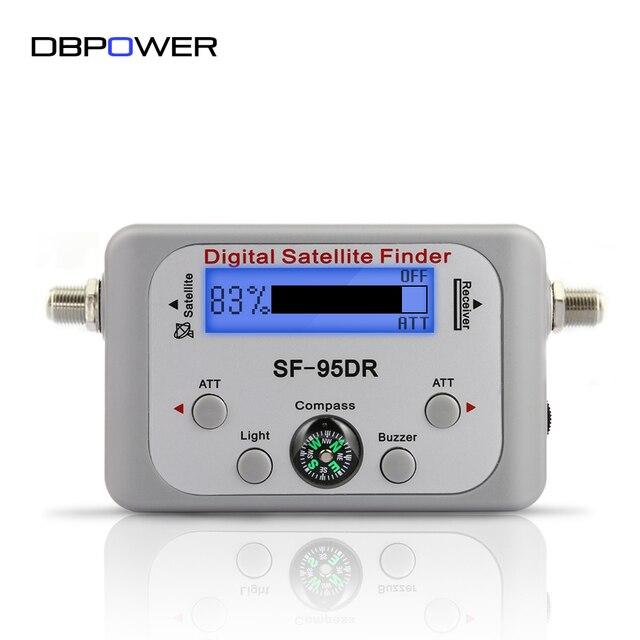 LED Display Digital Satfinder Compass Sat Finder Receptor TV Box Satellite Receiver Decoder Satlink Tuner Night Vision Backlight