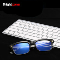 Brighzone 20 Yellow & Clear Colours Lens Blue Light UV Blocking Glasses Anti-tired Men Women Radiation Eyewear Computer Goggles