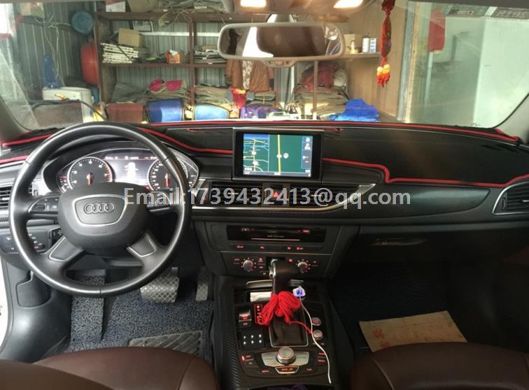 32 03 Dashmats Voiture Style Accessoires De Couverture De Tableau De Bord Pour Audi A6 C5 C6 2004 2005 2006 2007 2008 2010 2011 2012 2013 2014