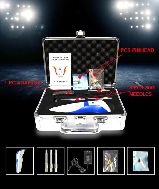 Caneta removedora de rugas de plasma 4th, caneta de plasma para remoção de pintas e rugas, lifting da pele, endurecimento anti rugas