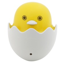HNGCHOIGE Yellow Duck Night Light Wall Socket LED Light-Control Sensor Lamp AC US Plug