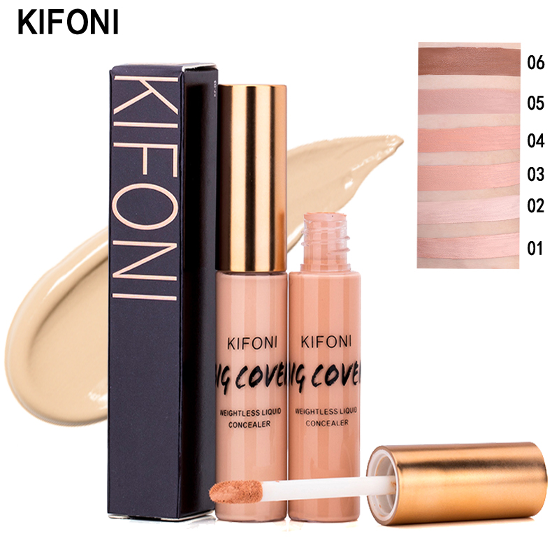 KIFONI makeup full Cover Face Concealer Cream 6 Colors Oil