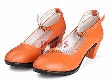 Лучший Сейлор Мун Сейлор Венера Айно Минако Косплей Обувь mp000598
